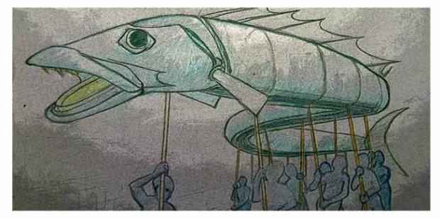 Giant Snoek Sketch