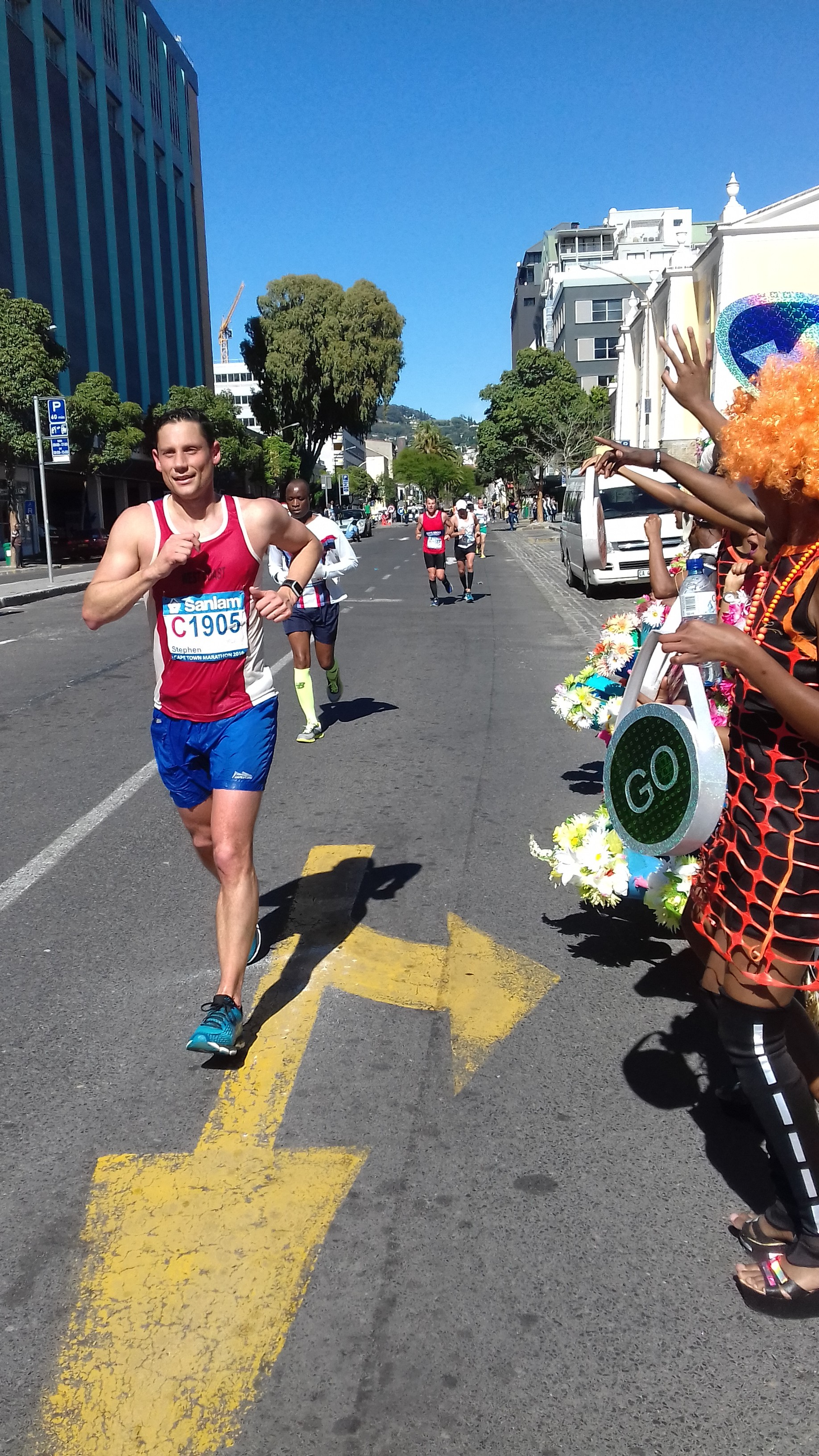 Cape Town Carnival supports the Cape Town Marathon 2016