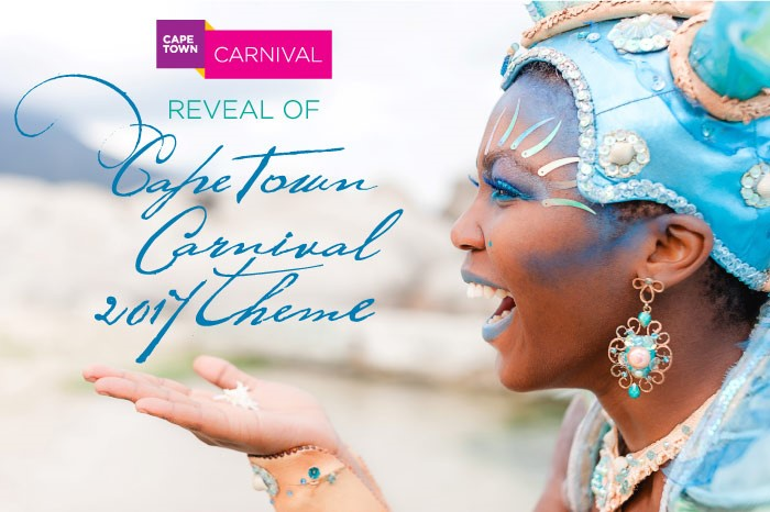 CAPE TOWN CARNIVAL 2017 TO SHOWCASE A DAZZLING SEA OF BLUE MYTHOLOGY